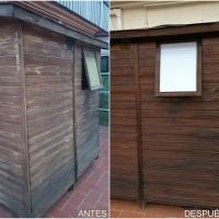 Barniz de madera exterior