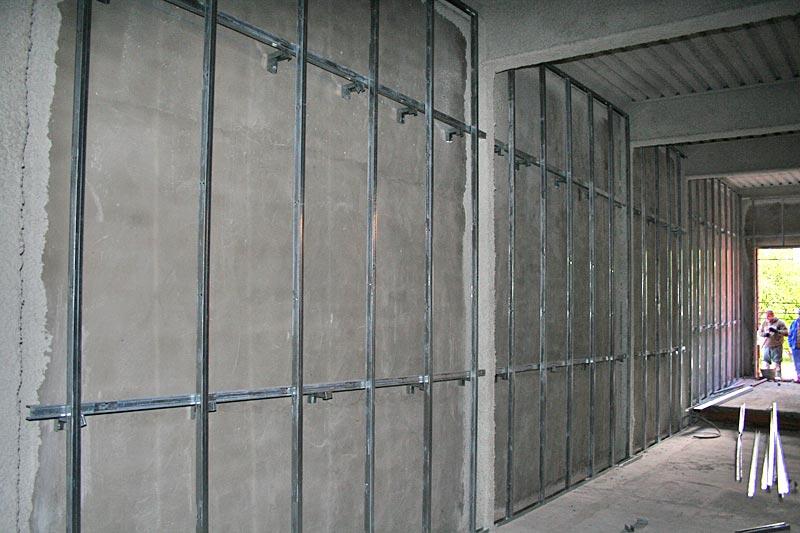 Colocaci n de pladur en barcelona construrefor - Bajar techos con pladur ...